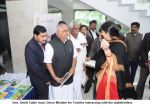 Smt. Smriti Zubin Irani, Union Minister for Textiles interacting with the stakeholders
